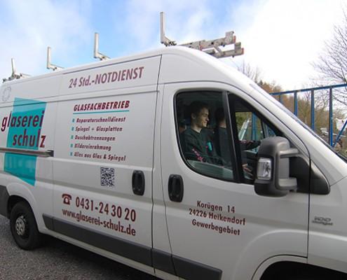 Glasnotdienst in Kiel - Glaserei Schulz