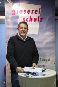 Die Glaserei Schulz bei den Mach's Sicher Einbruchschutz Infotagen