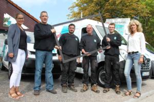 Das Team der Glaserei Schulz in Kiel Heikendorf. Foto: VN-Erfolgsreport.de