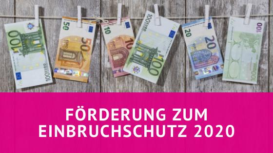 Fördermittel zum Einbruchschutz 2020 - Glaserei Schulz Kiel